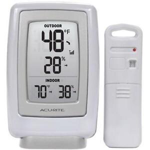 Wireless Indoor Outdoor Thermometer   eBay