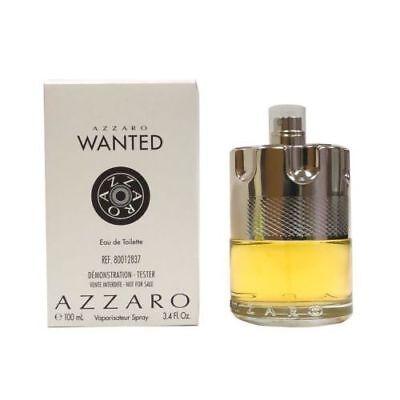 Azzaro Wanted 3 4 Oz 100 Ml Eau De Toilette Spray By Azzaro Men Tester No Cap