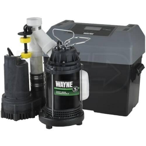 Wayne WSSM40V 1/2 HP Sump Pump System - OPEN BOX