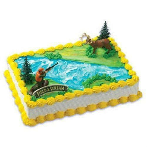 Hunting Birthday Cake Decorations
