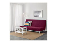 Purple IKEA Beddinge 3 seater Double Sofabed sofa futon day bed couch settee Delivery possible