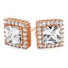 Gold Stud Rose Gold Earrings & Studs for Men