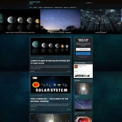 Astronomy Store - Business Website For Sale - Work From Home Hosting Domain