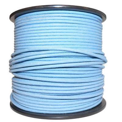 1M Algodón Trenzado Eléctrico Del Automóvil Cable 18 Indicador Azul