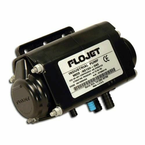 "Flojet N5100 Series - 2.5 GPM, 1/4"", Viton"