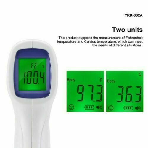 NON-CONTACT IR Infrared Digital Thermometer + Liquid Soap Sanitizer Dispenser  6