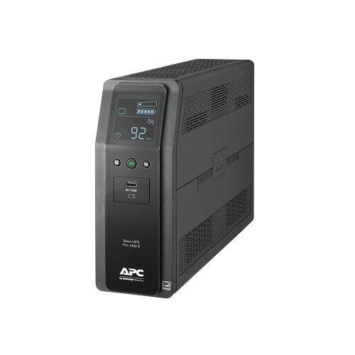 APC Back-UPS Pro BR UPS AC 120 V 600 Watt 1000 VA - USB - Black