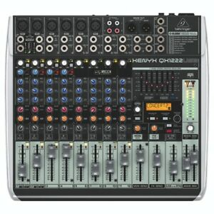 Behringer QX1222USB Xenyx 16-Channel USB Mixer - NEW IN BOX