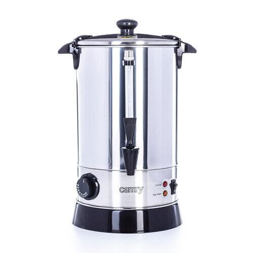 Glühweinkocher mit Thermostat 8,8 Liter Heisswasserspender für Teer warmhalten
