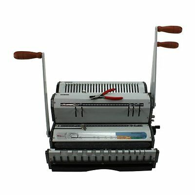 New Akiles Duomac 421 41 Coil And 21 Wire Binding Machine - Free Shipping