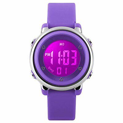 Kinder Digital Sport Uhren – Mädchen 5 Bar Wasserdicht Uhren Sportuhr mit
