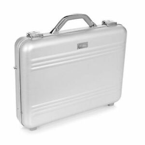 MEZZI Aluminum High Tech Briefcase. Brand new