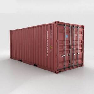 20FT --USED-- SHIPPING CONTAINER