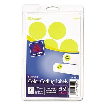 Assorted avery print or write removable color coding for Avery template 5472