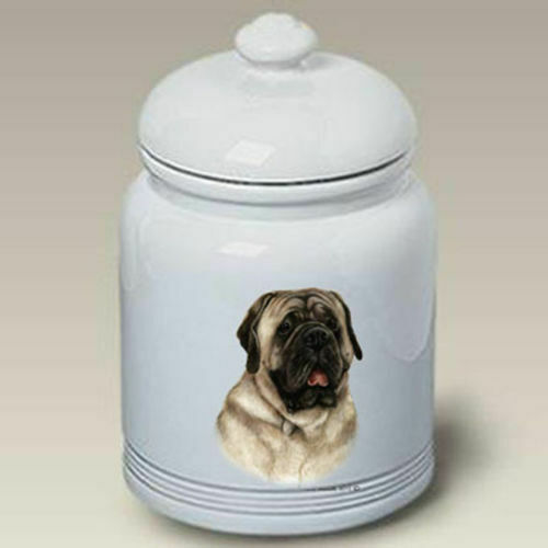 Mastiff Ceramic Treat Jar TB 34317