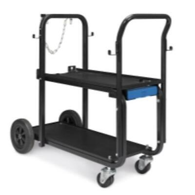 Miller Heavy-duty Welder Cart & Cylinder Rack (301239)