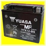 Motorradbatterie 12V 10AH