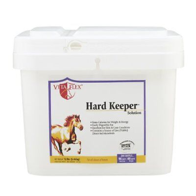 HARD KEEPER SOLUTION FOR HORSE WEIGHT GAIN & COAT, (Pack of 1)