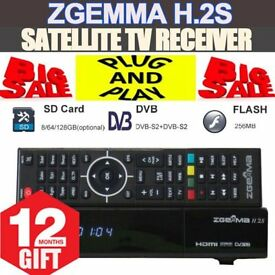 ZGemma H2S and Star 2s boxes - Fully configured, ready to go with 12 months (sly) gift included.