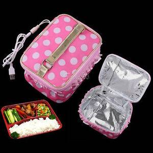 cool usb lunchbox lunch box bento warming heating bag. Black Bedroom Furniture Sets. Home Design Ideas