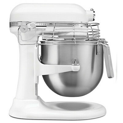 Kitchenaid Ksmc895 8 Qt. Commercial Mixer With Bowl Guard And Bowl Lift White