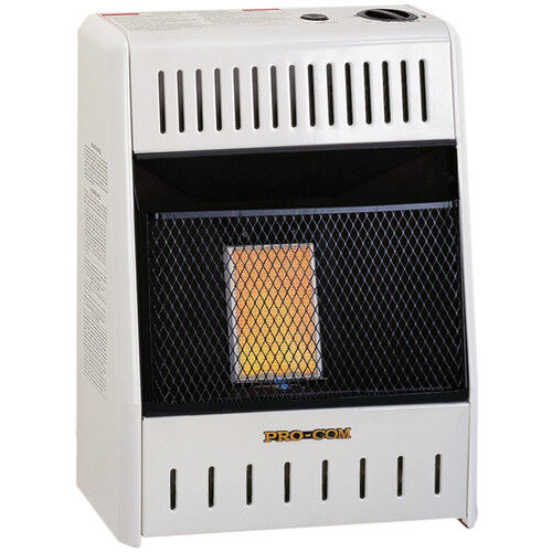 procom liquid propane ventless plaque heater 6