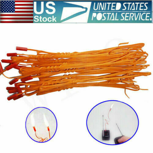 25pcs 1M safety E Match Igniter Wire for Fireworks Firing System Electric Wire