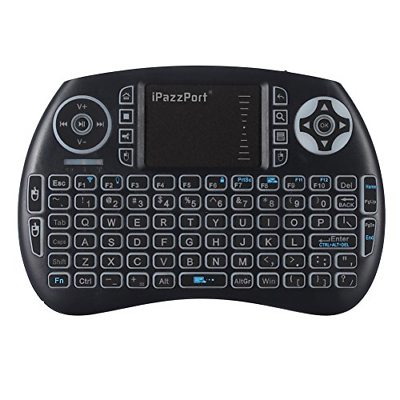 Wireless Bluetooth Backlit Keyboard with Touchpad for Home T