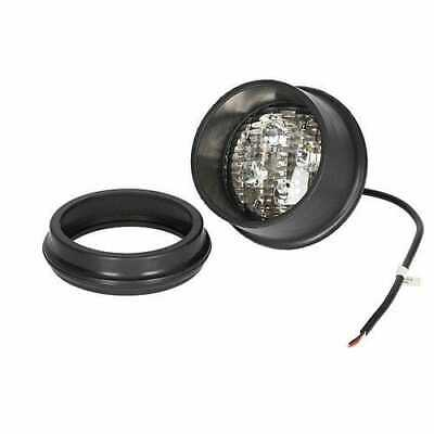 Led Fender Work Light - 40w Round Rear Mount Flood Beam Compatible With