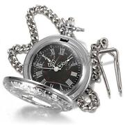 Vintage Silver Pocket Watch