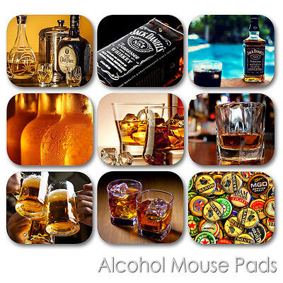 Custom Bar Pads (ALCOHOL CUSTOM MOUSE PAD BAR RESTAURANT BEER WHISKEY VODKA WINE MOUSEPAD )