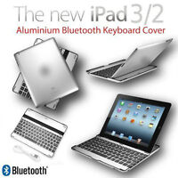 Bluetooth Keyboard Case iPad Etui Clavier Sans Fil BLACK