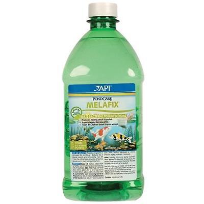 API Pond Care MelaFix 64 oz. Koi and Goldfish Antibacterial Remedy - Antibacterial Remedy