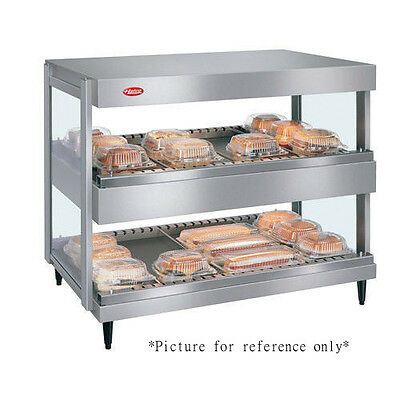 Hatco Grsdh-36d Display Warmer With 14 Divider Rods And 2 Horizontal Shelves