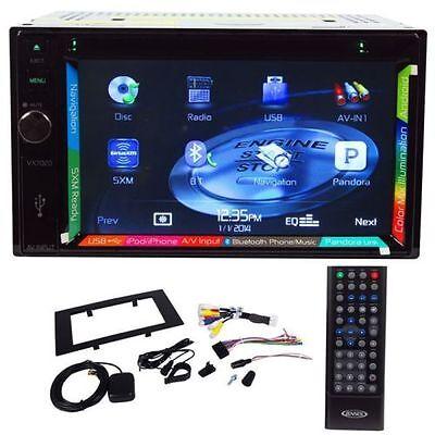 """Jensen VX7020 Double DIN DVD/MP3 6.2"""" Touchscreen GPS Navigation w/Bluetooth NEW on Rummage"""