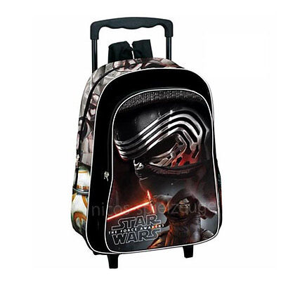 Star Wars Episode 7 Trolley Rucksack Schultrolley Reisetrolley Koffer