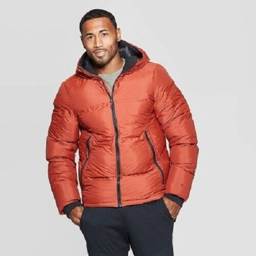 C9 Champion Mens' Puffer Jacket – Warm Cinnamon S (NWT) Clothing, Shoes & Accessories