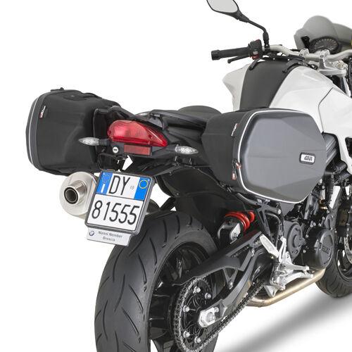 TELAIETTI LATERALI PER BORSE E VALIGIE GIVI TE5118 BMW F800R 09 - 14
