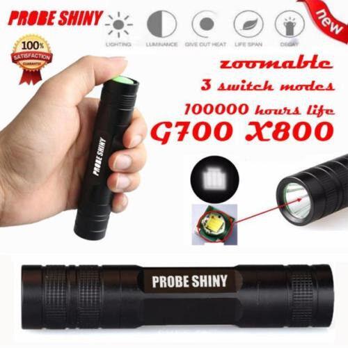 Probe Shiny G700 X800 2000LM LED Waterproof Torch
