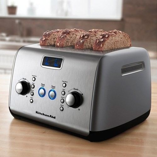 praktische toaster f r gro familien ebay. Black Bedroom Furniture Sets. Home Design Ideas