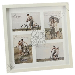 OUR STORY PHOTO PICTURE FRAME WEDDING ANNIVERSARY COLLAGE GIFT LOVE KEEPSAKE NEW