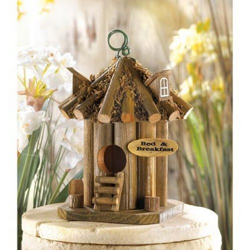Bed and Breakfast Decorative Birdhouse Four Pack