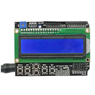 1602 Lcd Shield Module Display V3 For Arduino Uno R3 Mega2560 Nano Due Ed