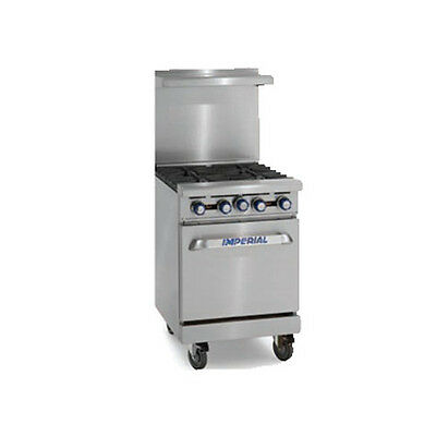 Imperial Ir-4 Four Burner 24 Gas Restaurant Range