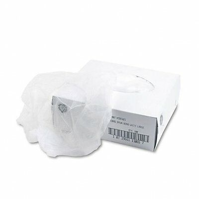 """United Disposable Hair Net, Spun-Bonded Polypropylene, White, 100/Bag"""