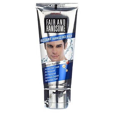 Emami Fair and Handsome Instant Fairness Face Wash Best For Men - 100g