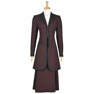 Hot!Doctor Who 8th Season Female Missy Mistress Cosplay Costume AA.0684
