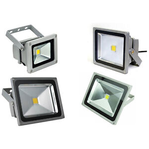 Faro faretto led 10w 20w 30w 50w alta luminosita luce for Led luce bianca