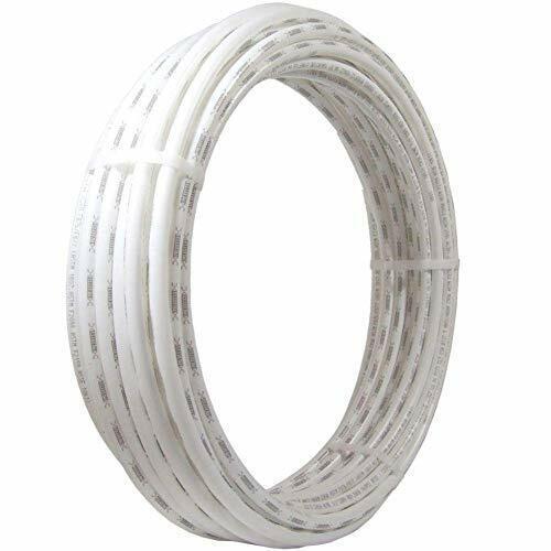 SharkBite, White, PEX Pipe 1/2 Inch, Flexible Tube, Potable