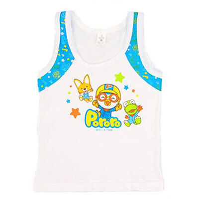 Pororo BLUE singlet for 1~2 years old boy / Pororo sleeveless (Mickey Mouse Toys For 1 Year Old Boy)